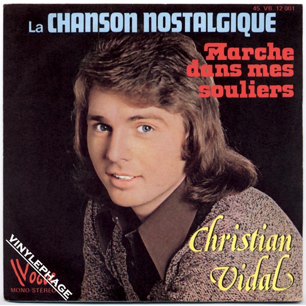 Christian Vidal - Chanson Nostalgique  1975 Record MIllion Seller.jpg