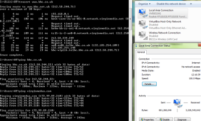 traceroute hub 3