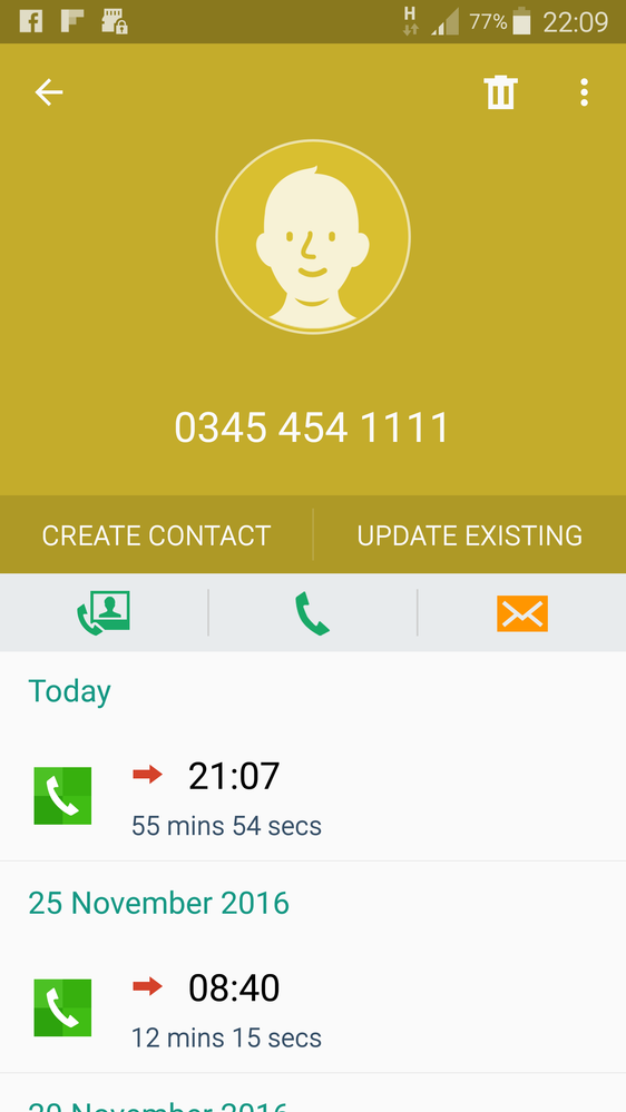 Just a typical call to VM . . .