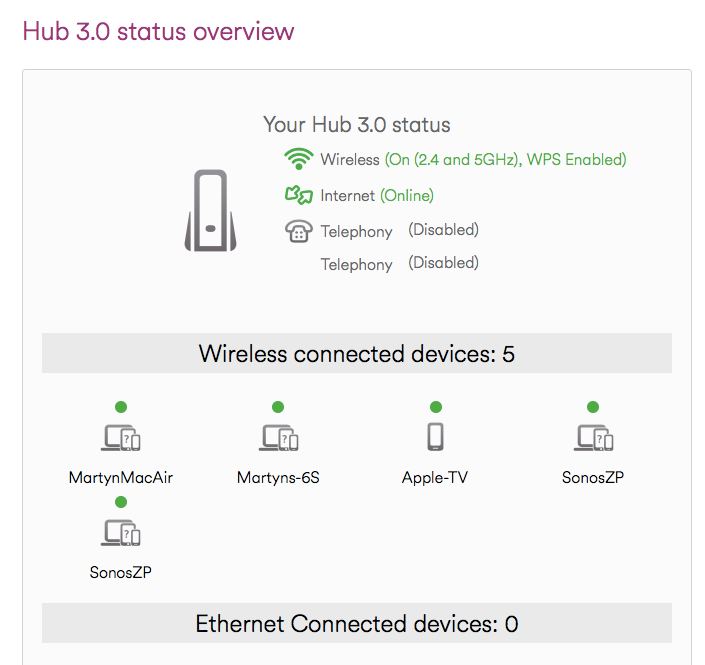Image shows no ethernet connections (there should be 2)