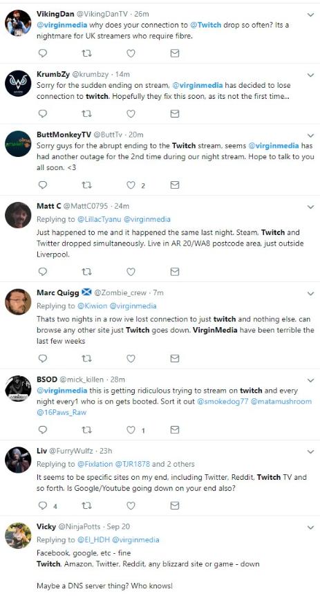 Virgin Media routing issues AGAIN - Virgin Media Community - 3832689
