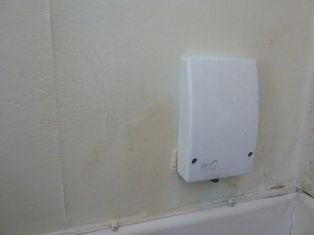 Virgin coax outlet