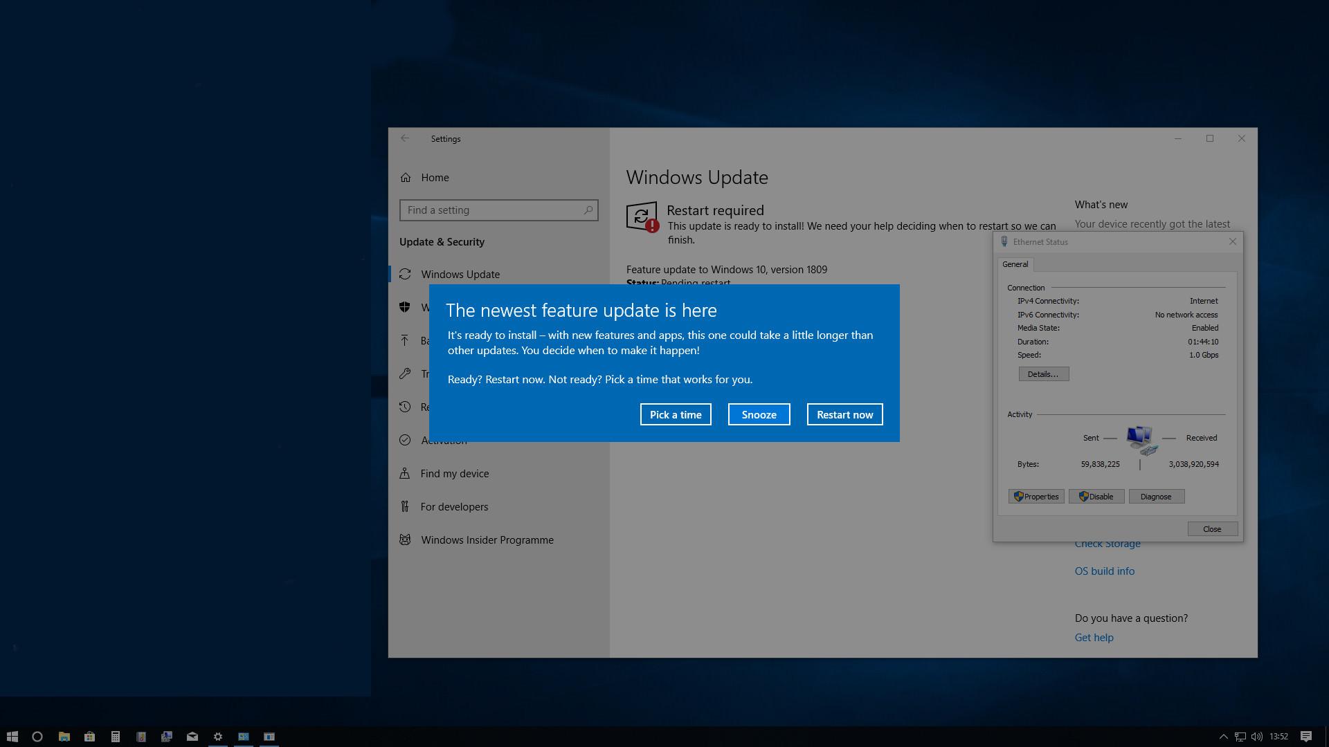 I downloaded Windows 10 vers 1803 - Page 3 - Virgin Media Community