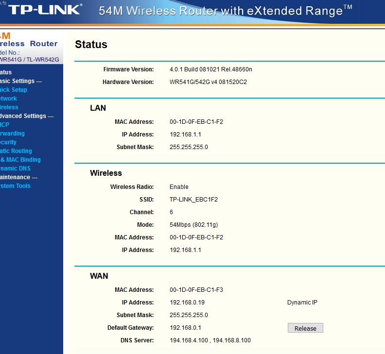 Virgin Media Ip Address >> Using 2nd Router With Virgin Media 3 0 Hub Virgin Media Community