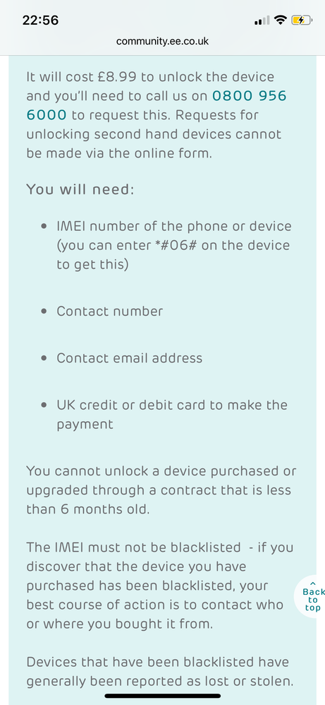 Virgin sim card on EE phone - Virgin Media Community - 3890414