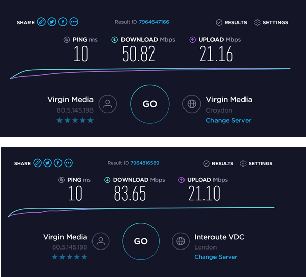 Solved: Very slow unreliable broadband 2019 (SH3) - Page 3 - Virgin