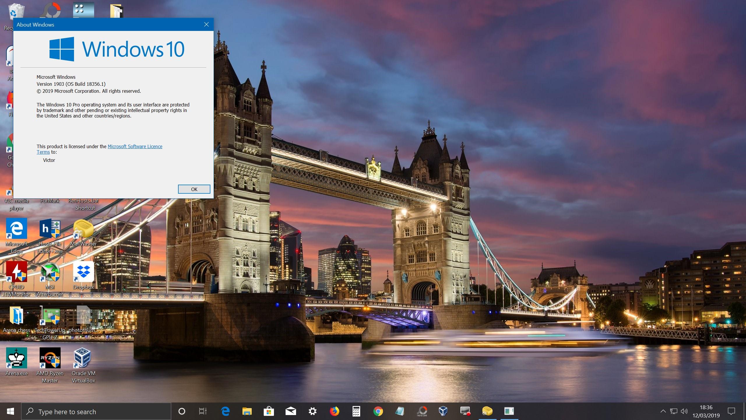 I downloaded Windows 10 vers 1803 - Page 8 - Virgin Media Community