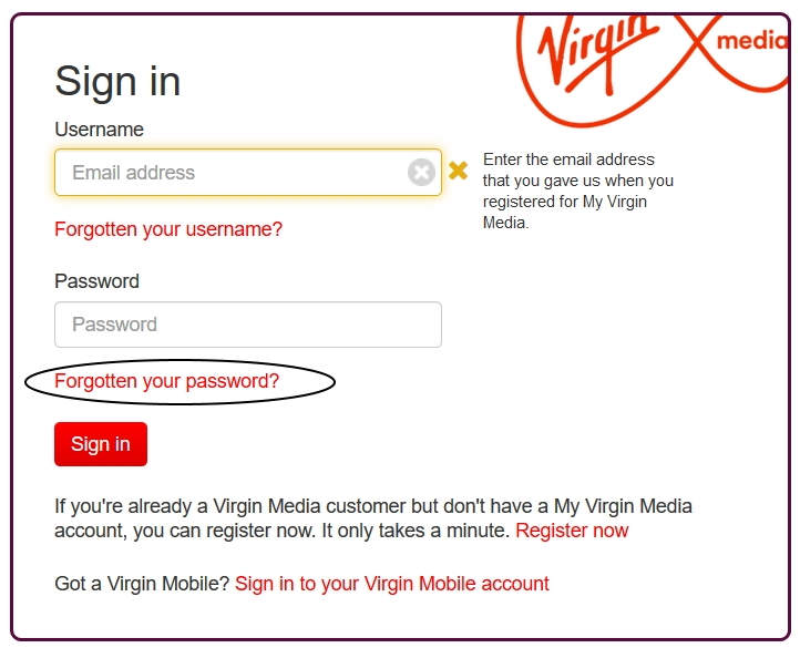 Cant Access This Account Virgin Media Community 4042542