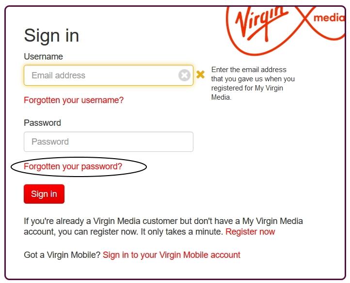 Solved Lost Blueyonder Email Address Virgin Media Community