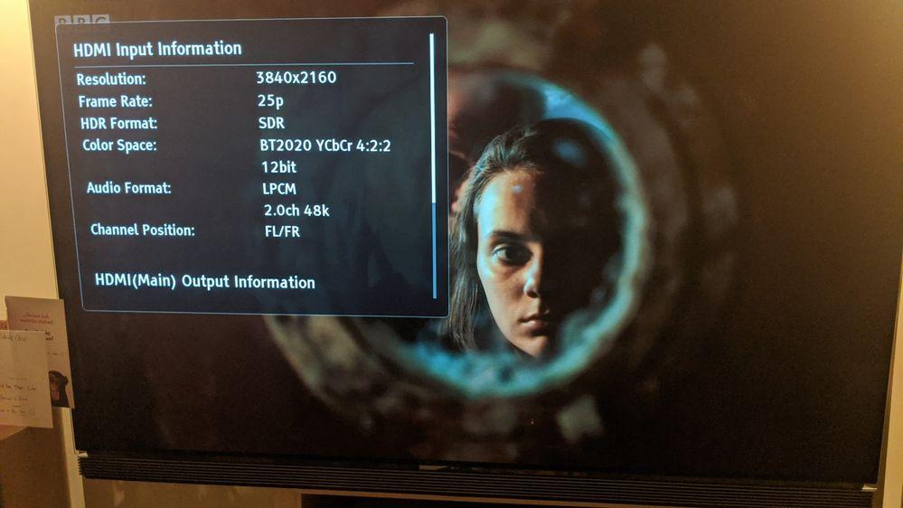 BBC iPlayer UHD 25p