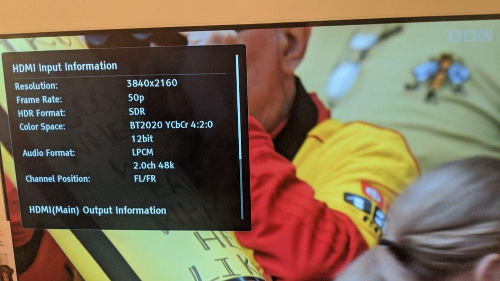 BBC iPlayer UHD 50p