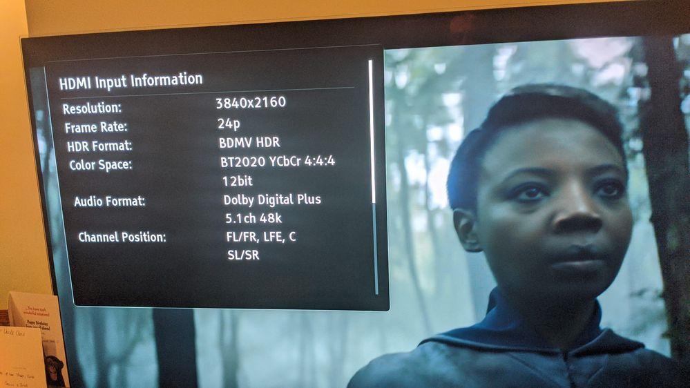 NetFlix UHD HDR 24p