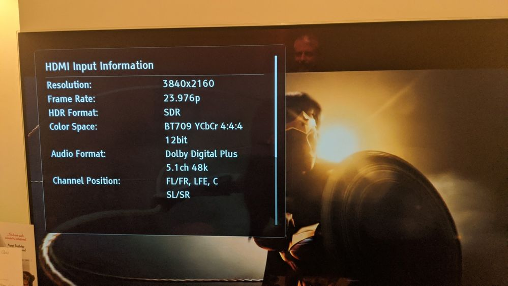 NetFlix HD (but UHD) SDR 23.976p