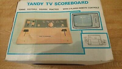 Vintage-Tandy-TV-Scoreboard-Electronic-Game-Console