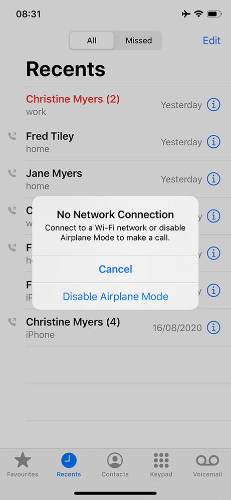 Solved Wifi Calling In Airplane Mode Page 2 Virgin Media Community 4384327