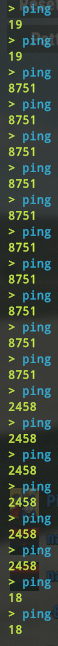Virgin media internet connection ping every 30 seconds