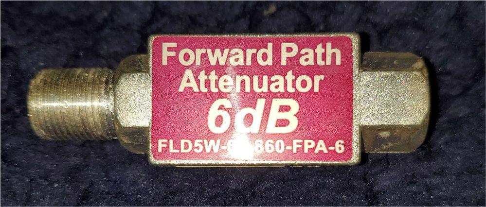 6d-B-Attenuator