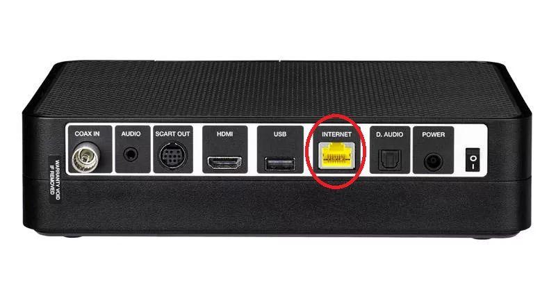 Virgin TV Ethernet