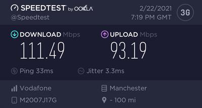 Voxi 4G (LTE 3CA)