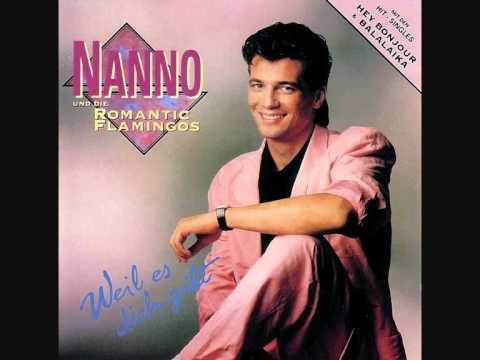 NANNO & The Romantic Flamingos  Greatest HITS  Germany Holland Belgium Austria Italy 1980s.jpg
