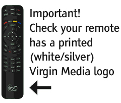 Set-up Your Virgin Remote Control to operate the V    - Virgin Media