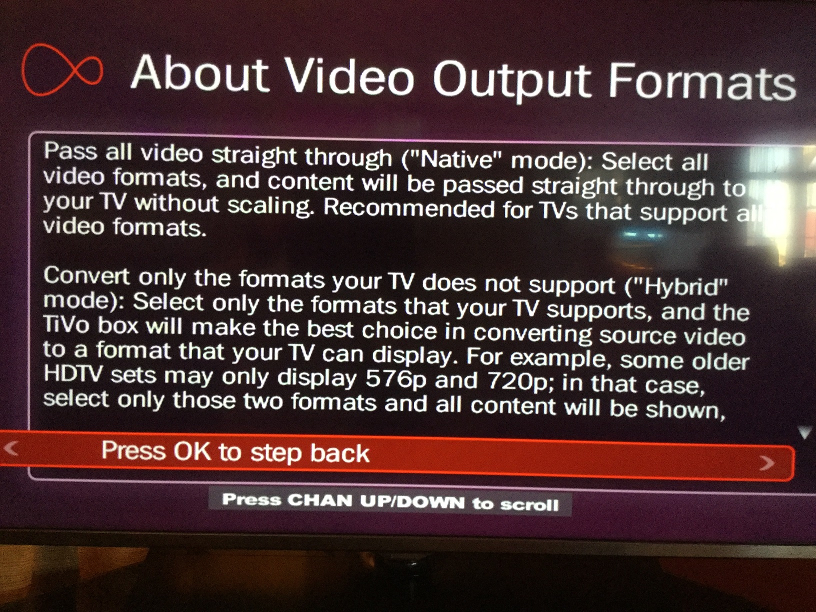 Video Output Settings - Page 2 - Virgin Media Community