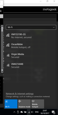 Solved: 2g wifi signal dropping periodically - Virgin Media
