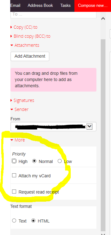 email receipt settings virgin media community