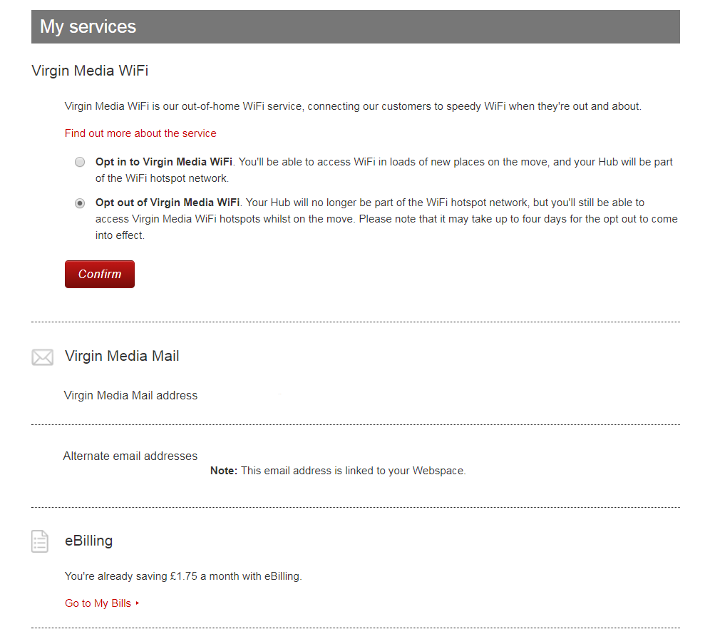 Virgin media email addresses opinion you