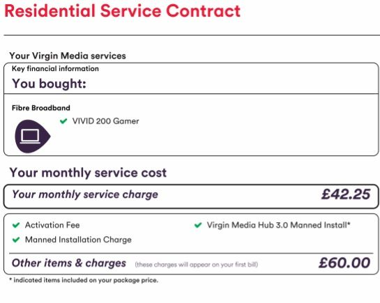 Solved Engineer Charge  Virgin Media Community